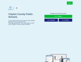 clayton.edmodo.com screenshot