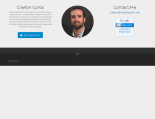 claytoncurtis.com screenshot