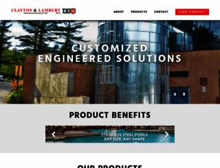 claytonlambert.com screenshot