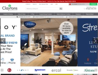 claytonscarpets.co.uk screenshot