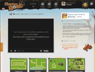 claytus-towerdefense.com screenshot