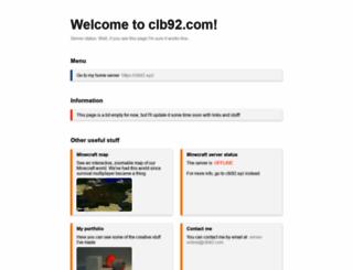 clb92.com screenshot