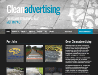 cleanadvertising.nl screenshot