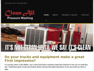 cleanallpressurewashing.com screenshot