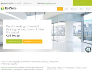 cleanation.com screenshot