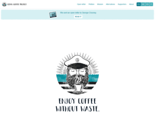 cleancoffeeproject.org screenshot