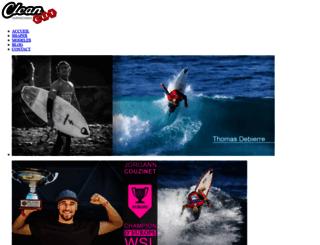 cleancutsurfboards.com screenshot