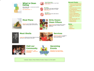 cleaneatinglivingwell.com screenshot