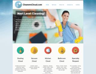 cleanerscloud.com screenshot