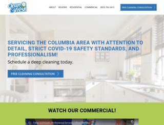 cleanfresh.us screenshot