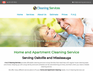 cleaning-services.ca screenshot