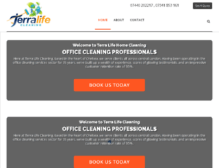 cleaningcompanyinlondon.co.uk screenshot