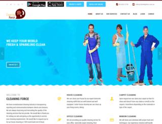 cleaningforce.com.au screenshot