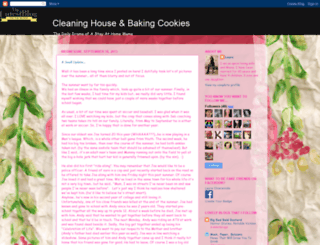 cleaninghouseandbakingcakes.blogspot.com screenshot