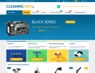 cleaningspot.co.uk screenshot