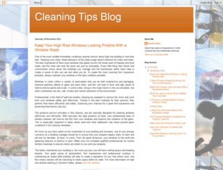cleaningtipsblog.blogspot.com screenshot