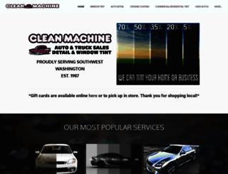 cleanmachinelongview.com screenshot