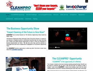 cleanpro.com screenshot