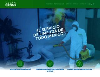 cleanservice.com.mx screenshot