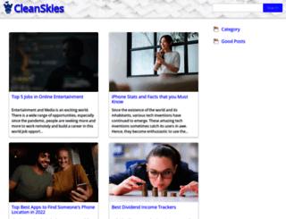 cleanskies.com screenshot