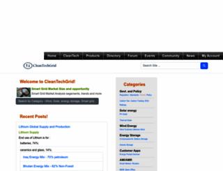 cleantechgrid.com screenshot