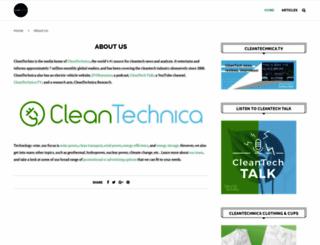 cleantechies.com screenshot