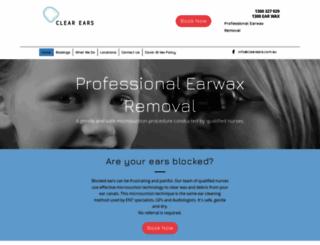 clearears.com.au screenshot
