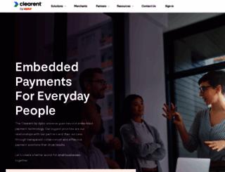 clearent.com screenshot