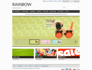 clearflex-rainbow.myshopify.com screenshot