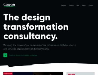 clearleft.com screenshot