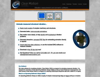 clearmotionsystems.com screenshot