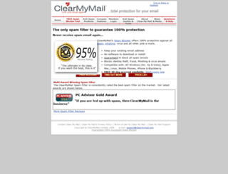 clearmymail.com screenshot