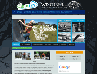 clearsky-adventure.com screenshot