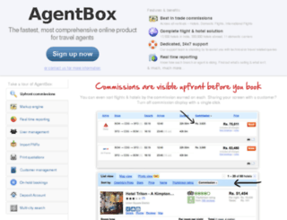 cleartrip.agentbox.com screenshot
