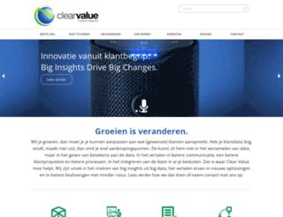 clearvalue.nl screenshot