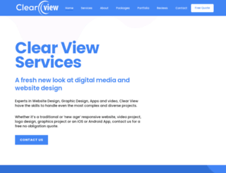clearviewwebdesign.co.nz screenshot