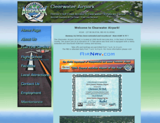 clearwaterairpark.net screenshot