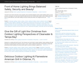 clearwateroutdoorlighting.com screenshot