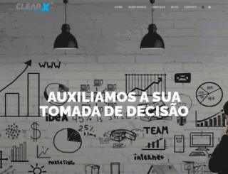 clearx.com.br screenshot