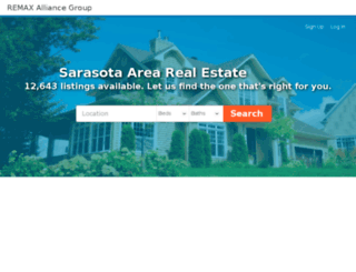 clearygroup.searchforsarasotahomes.com screenshot