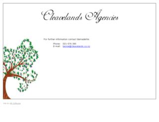 cleavelands.co.nz screenshot