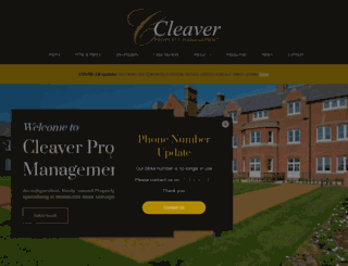 cleaverproperty.co.uk screenshot