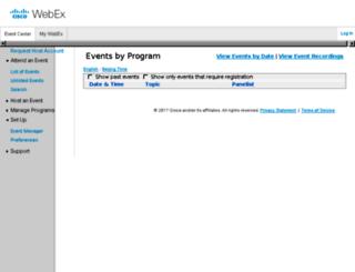 cleducate.webex.com screenshot