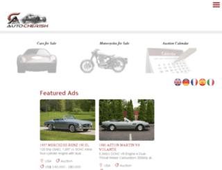 cleevewood.autocherish.com screenshot