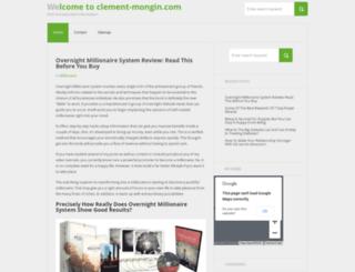 clement-mongin.com screenshot
