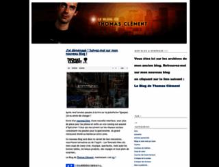 clement.blogs.com screenshot