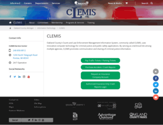 clemis.org screenshot