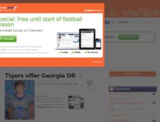 clemson.247sports.com screenshot