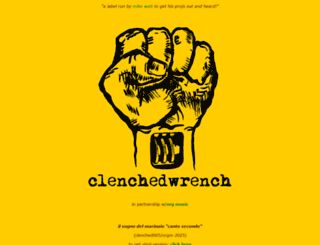 clenchedwrench.com screenshot