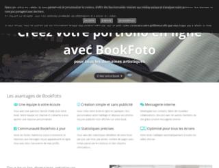 cleo.bookfoto.com screenshot
